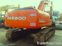 Sell for Second hand Daewoo Excavator, DH220LC-5