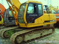 Sell Used Hyundai Excavator, R210-5