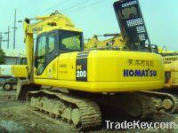 Sell Used Komatsu Excavator, PC200-7