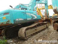 Sell Used Kobelco Excavator SK350LC-8, Original Japan