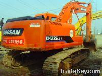 Sell Used Doosan Crawler Excavator DH225LC-7