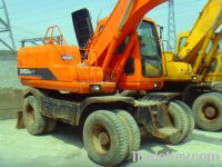 Sell Used Doosan Wheel Excavator, DH150W-7