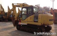 Sell Used Komatsu Excavator PC160