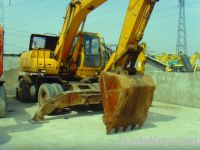 Sell Used Hyundai Wheel Excavator R210W-5
