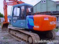 Sell Used Hitachi Crawler Excavator EX120-3, Good Condition