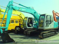 Sell Used Kobelco Excavator SK120, Good Working Condition