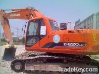 Sell Used Daewoo Doosan Excavator DH220LC-7, Model 2009