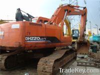 Sell Used Doosan Excavator DH220LC-7