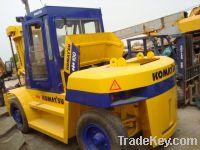 Sell Used Komatsu Forklift, Komatsu 10tons Forklift