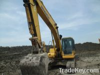 Sell Used Excavator Komatsu PC200-7