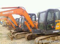 Sell Used Doosan Excavator DH60-7