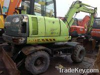 Sell Used Wheel Excavator, Hyundai Wheel Excavator R60W5