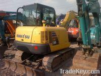 Sell Used Small Excavator, Komatsu PC56-7 Excavator