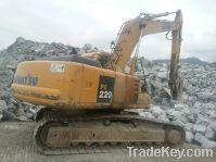 Sell Used Komatsu PC220-6 Excavator, Made In Japan