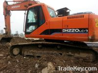 Sell Used Crawler Excavator, Doosan DH220LC-7 Excavator