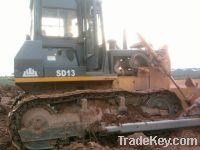 Sell Used Shantui Bulldozer SD13, China Shantui Bulldozer
