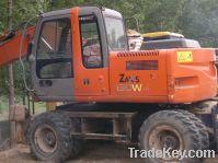Sell Used Wheel Excavator, Hitachi ZX130W Excavator