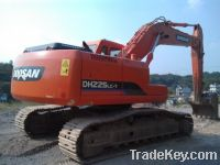 Sell Used Doosan Excavator DH225LC-7, Year 2010