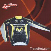 Sell Custom fashion sublimation polyester cycling shirt
