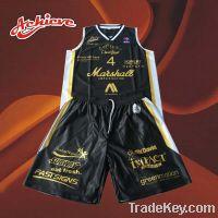 Sell custom basketball uniform