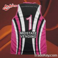 Sell cool-dry basketball jersey
