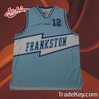 Sell High Quality Sublimated Custom Basketball Jersey
