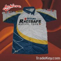 Sell  custom sublimation racing shirt with wholesale
