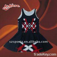 Sell custom fashion sublimation netball skirt