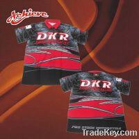 Sell Custom sublimation motorcycle racing shirt