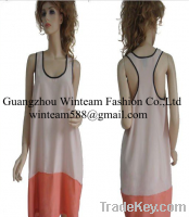 2014 Peach Skin Racerback tank tops women vintage blouse and tops