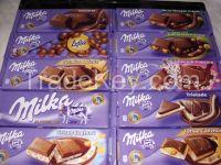 MILKA chocolate 100gr