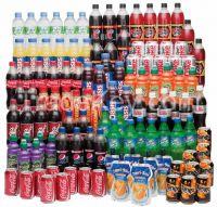 Soft Drinks (Coke, Diet Coke, Sprite, Fanta, Pepsi)