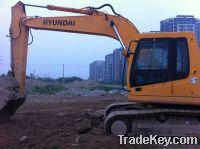 Sell Used Excavators Hyundai 215-7
