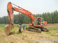 Sell Used Excavators Doosan 220-7