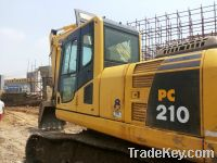 Sell Used Excavators Komatsu pc210-8