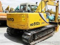Sell Used Excavators Kato HD512-3