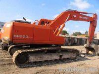 Sell Used Excavators Daewoo 220-5