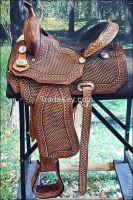 Sell: western Show saddles Genuine leather