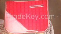 Crystal saddle pads