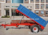 Sell 3 ton single axle farm trailer
