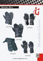 Leather gloves, Motorbike gloves