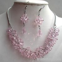 Sell crystal necklace sets
