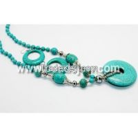 Sell turquoise necklace set