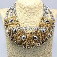 Sell  glass necklace set