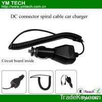 Sell DC connector spiral cable charger