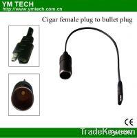 Sell  cigar female plug to bullet plug