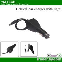 Sell bellied car charger with light