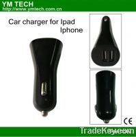 Sell car charger for Ipad or iphone