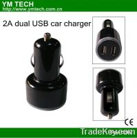 Sell 2A dual USB car charger