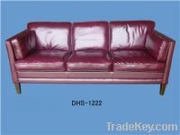 Sell leather sofas DHS-1222